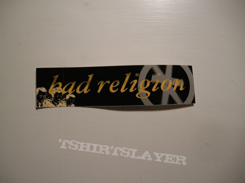 Bad Religion - Sticker with the logo from the Process of belief-album