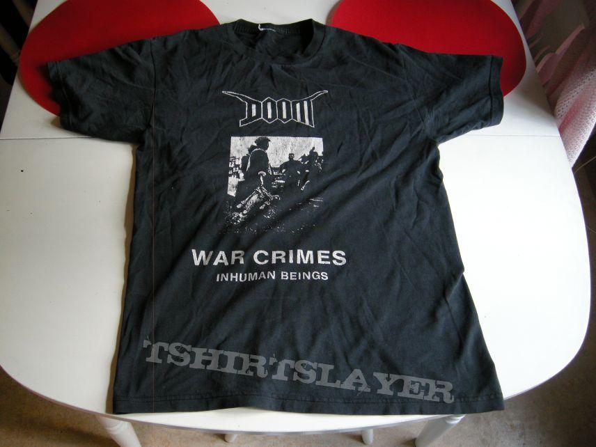 Doom - War crimes t-shirt