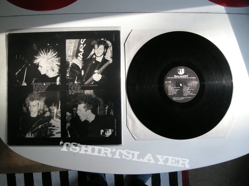 Discharge - Hear nothing See nothing Say nothing LP First pressing
