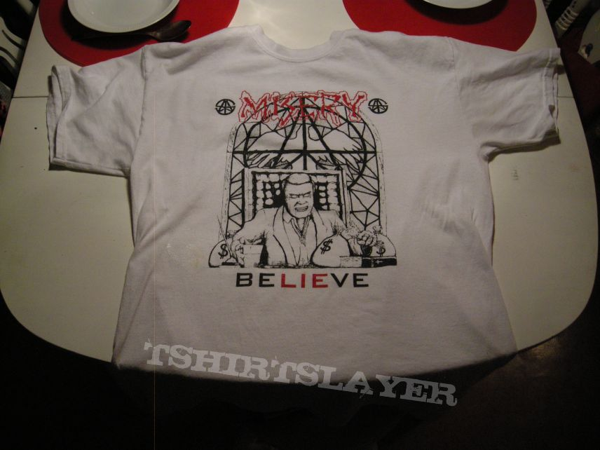 Misery - BeLIEeve t-shirt