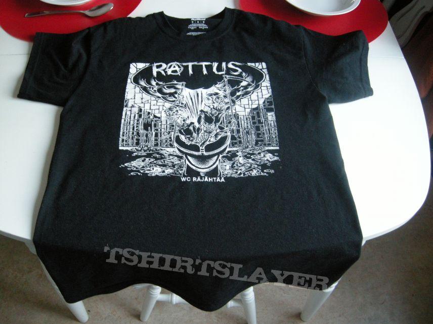 Rattus - WC Räjähtää t-shirt