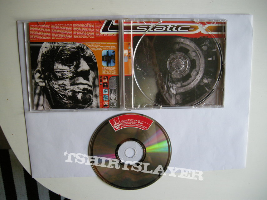 Static-X - Wisconsin death trip CD