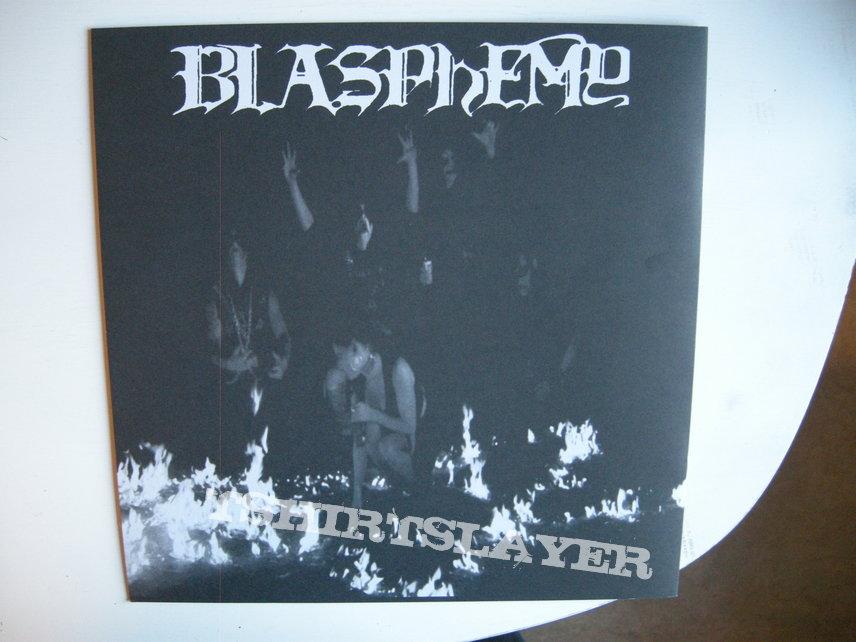 Blasphemy - Gods of war LP (+ Blood upon the altar demo) Reissue 2016