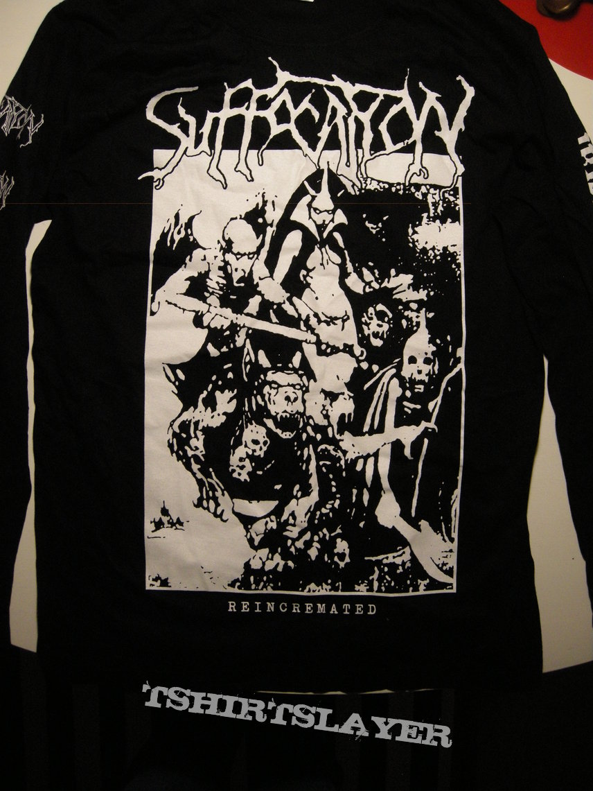 Suffocation - Reincrimated Official longsleeve Size Large