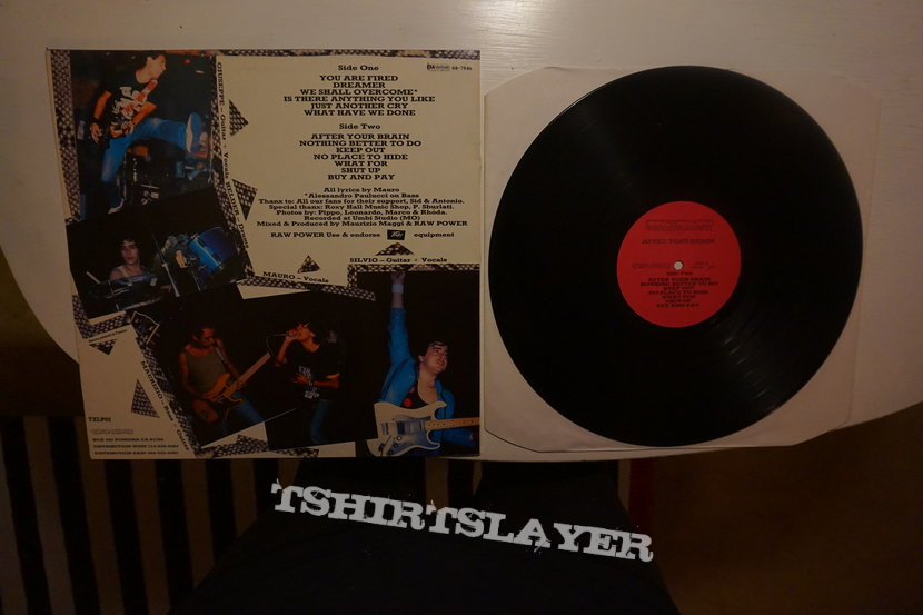 Raw Power - After your brain LP