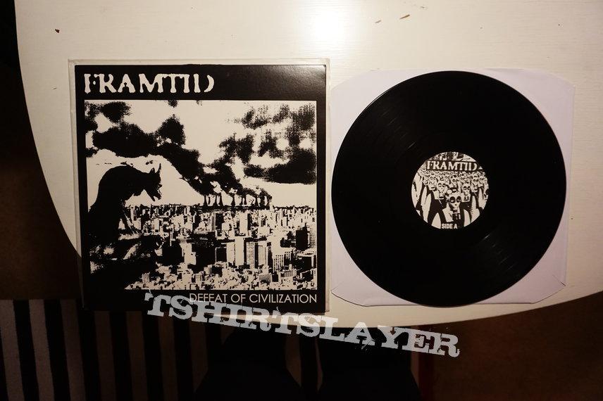 Framtid - Defeat of civilization LP / Mini LP
