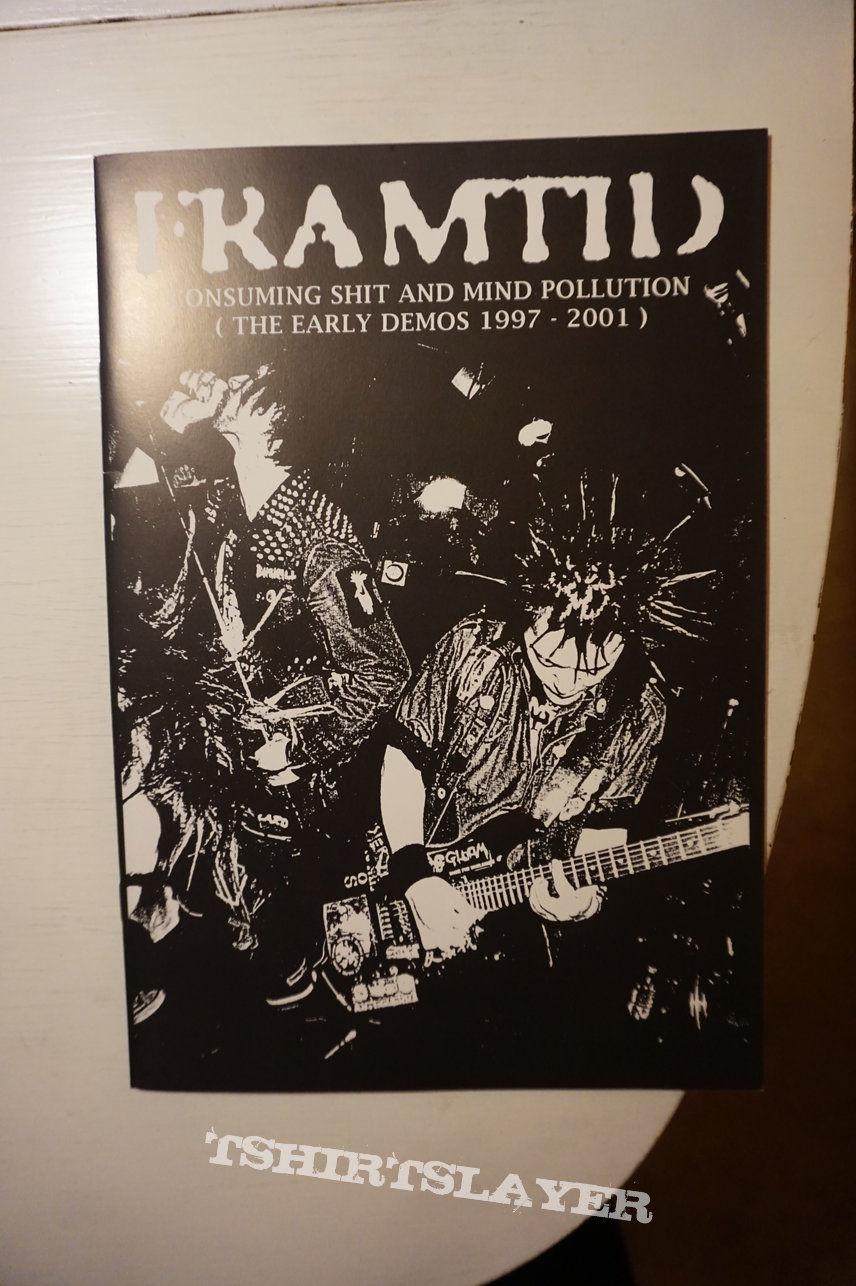Framtid ‎– Consuming Shit And Mind Pollution (The Early Demos 1997-2001)  LP Gatefold