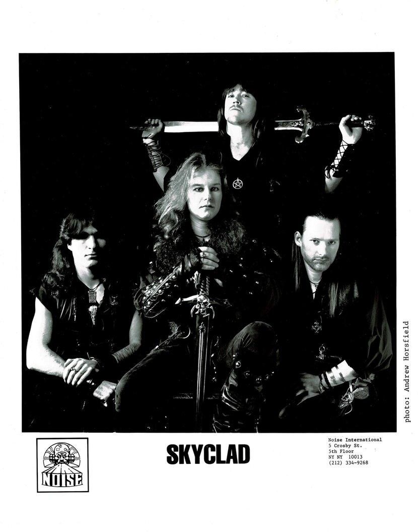 Skyclad press photos