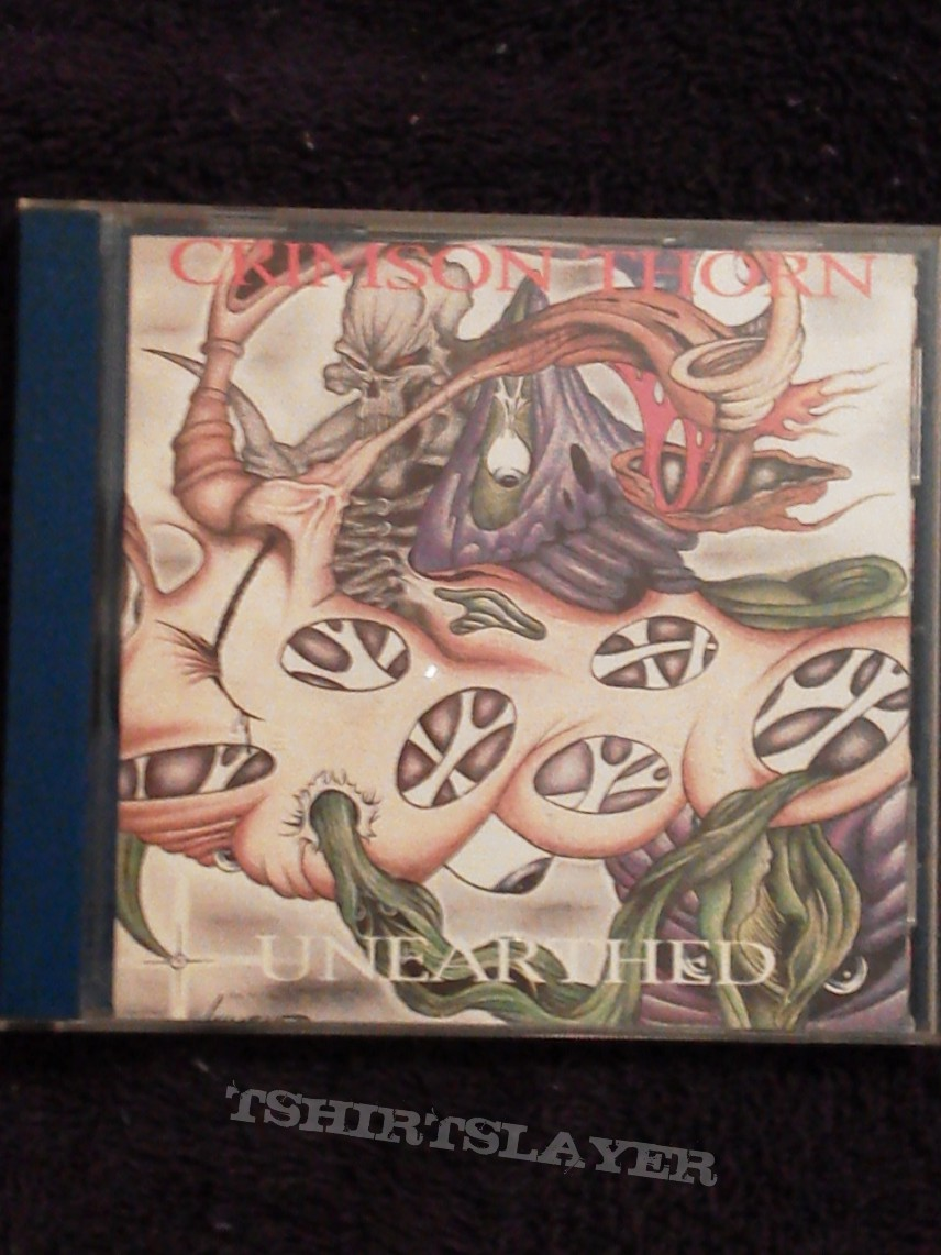 "Other Collectable - Crimson Thorn ""Unearthed"" 1st Pressing"