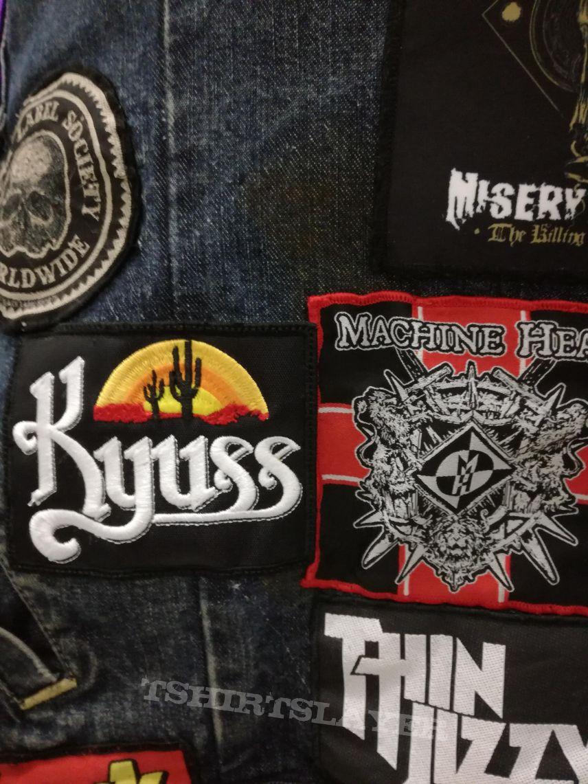 Patch Kyuss et Machine head