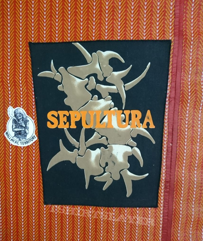 Vintage Back Patches SEPULTURA 90s