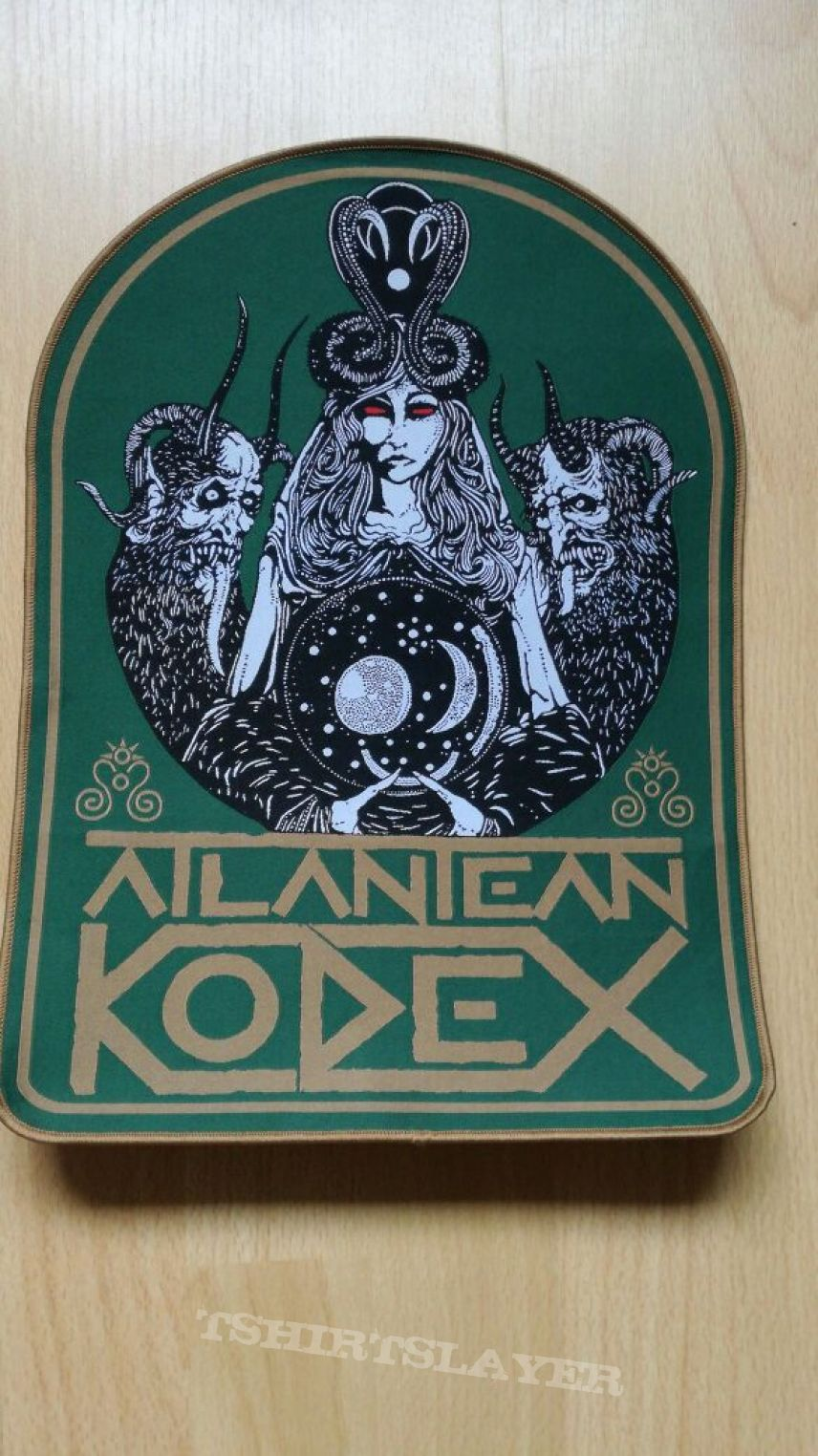 Atlantean Kodex Backpatch from KEEP IT TRUE 2017