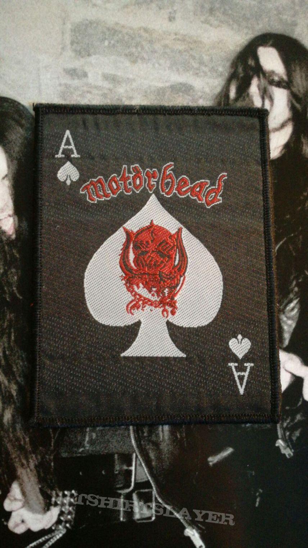 Motörhead Ace Of Spades Vintage Patch