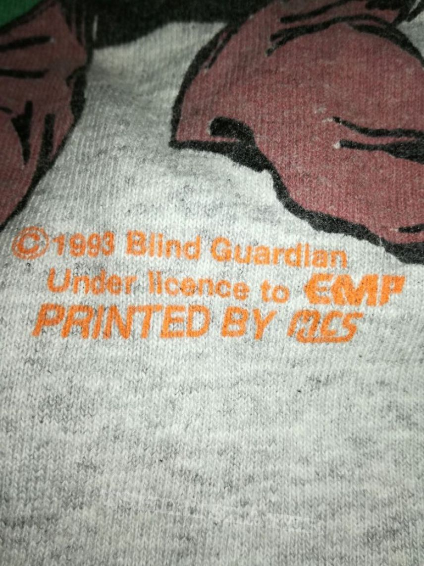 Blind Guardian Greetings From The Twilight Hall Vintage Longsleeve 93