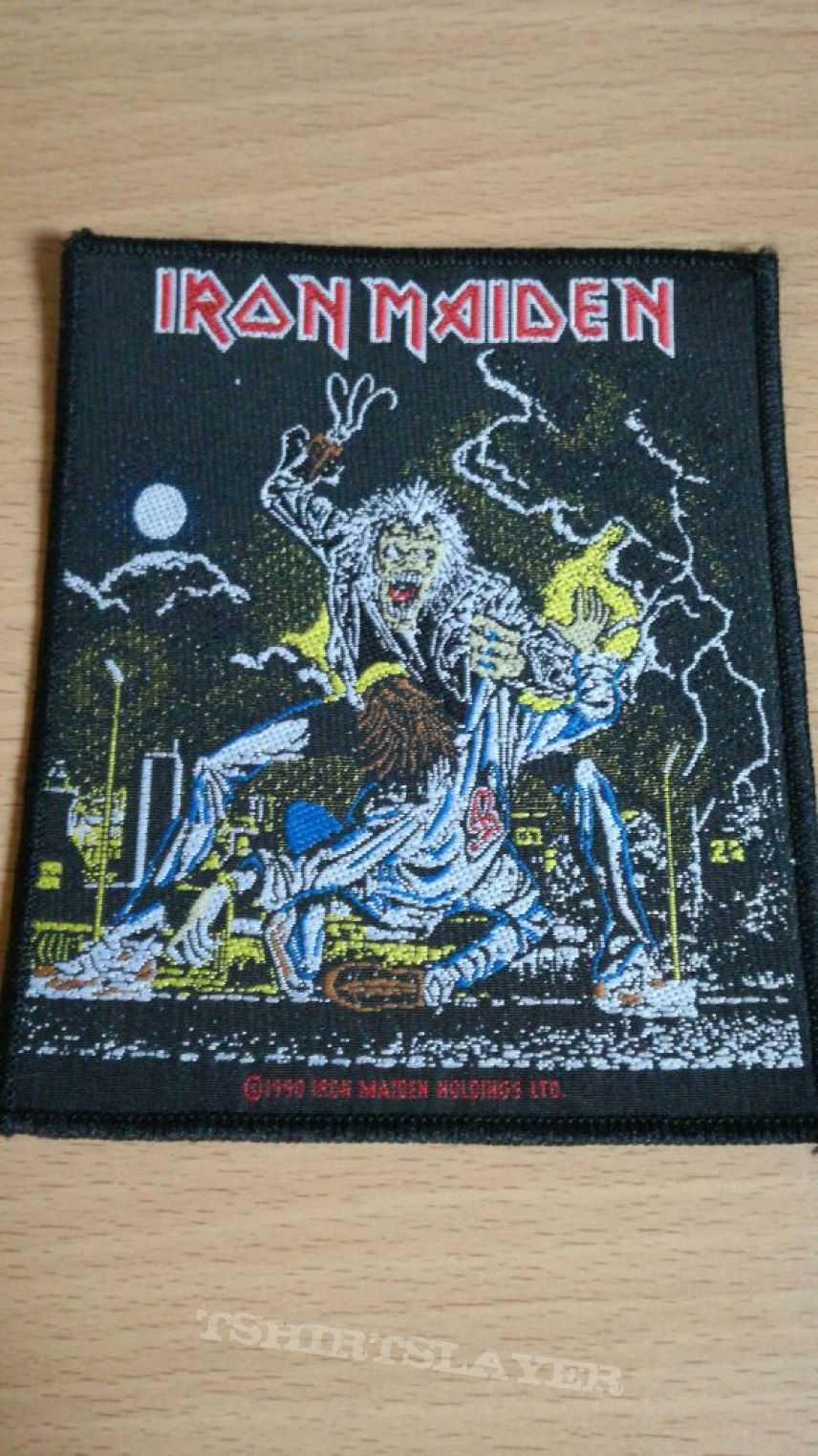 Iron Maiden Hooks In You patch