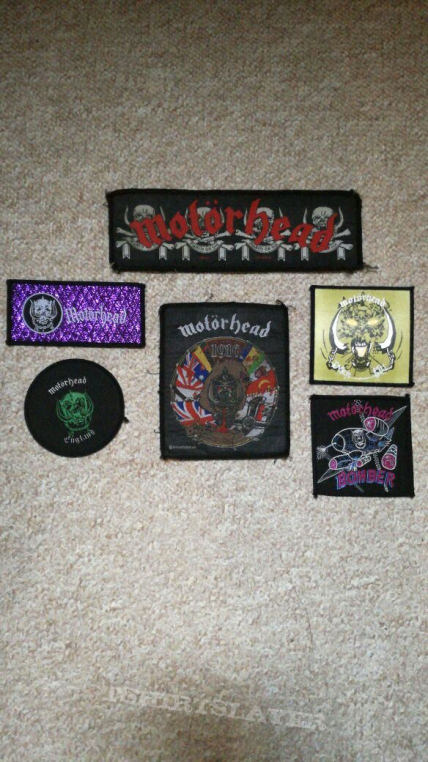 Motörhead patches for you