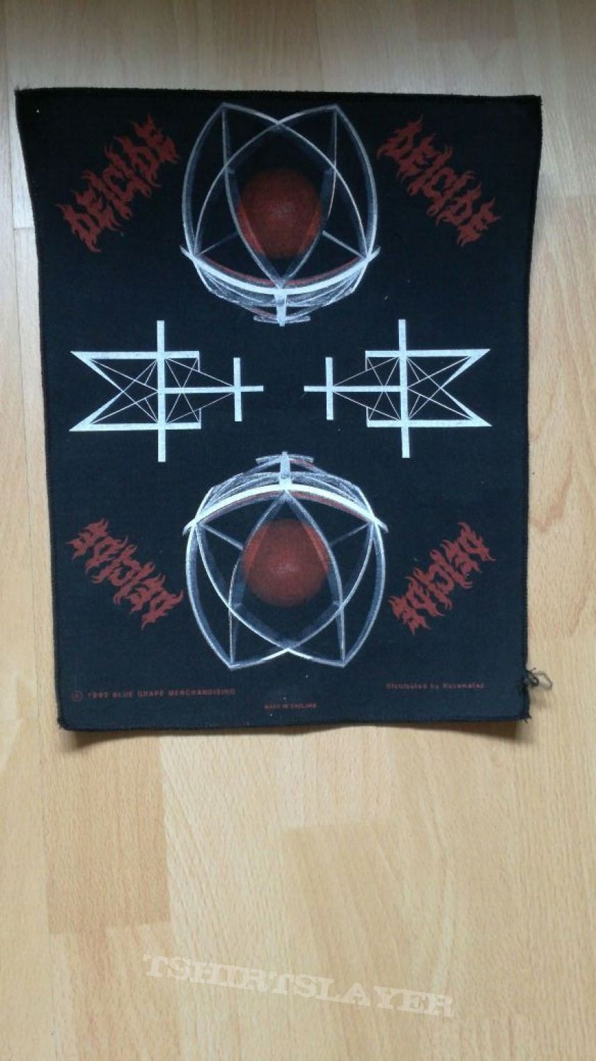 Deicide Legion Backpatch
