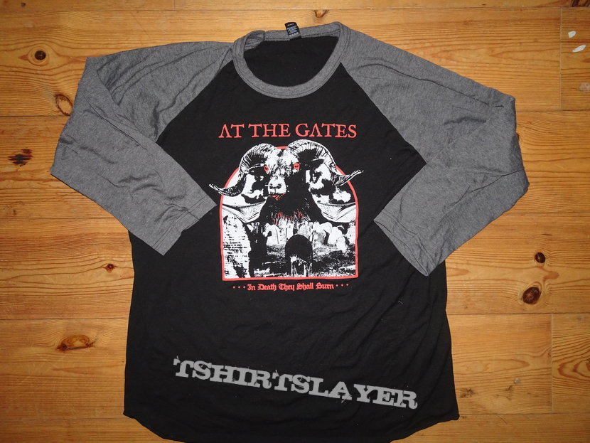 at the gates baseball shirt