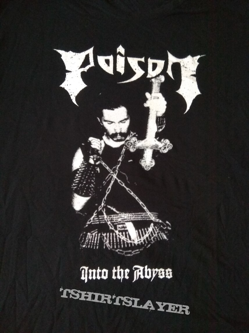 Poison (Germany) - Into the Abyss shirt