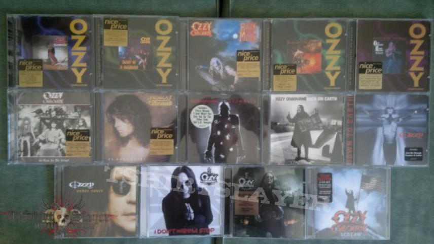 Other Collectable - Ozzy Osbourne CD & Vinyl Collection