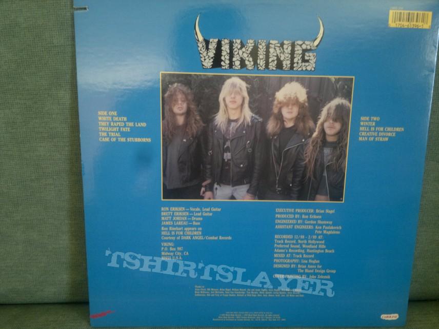 """Viking - """"Man of Straw"""" LP"""