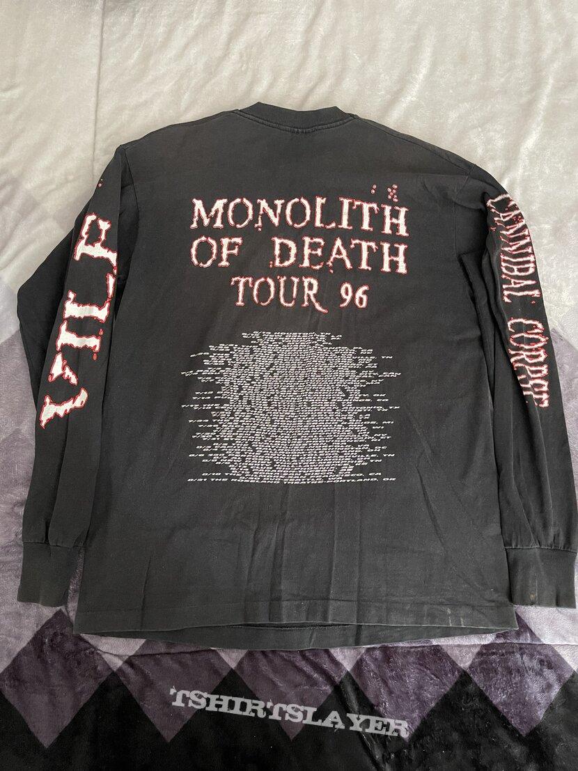 Monolith of death tour