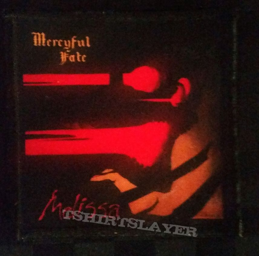 Mercyful Fate - Melissa patch