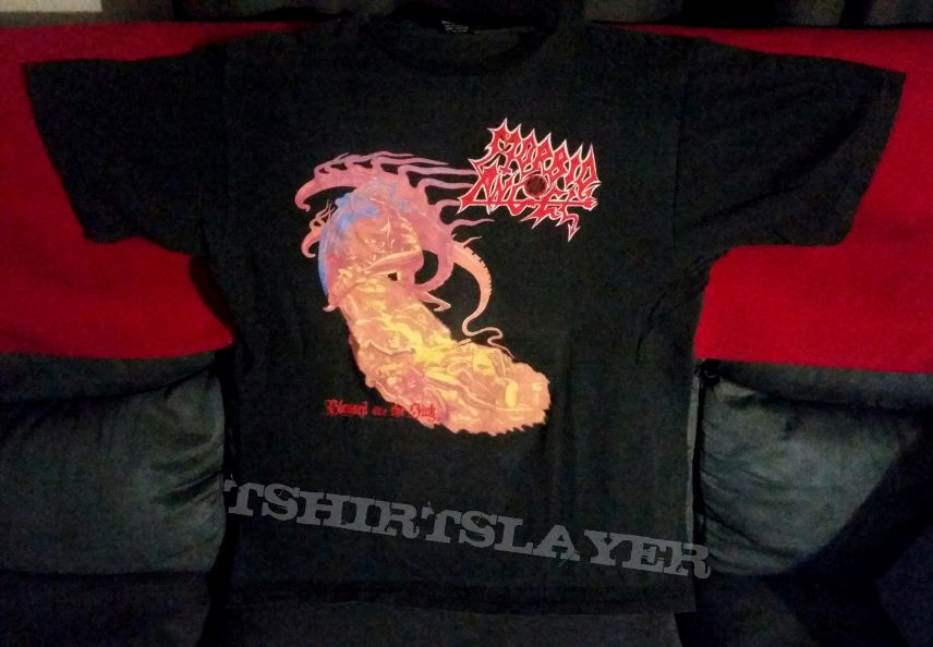 Morbid Angel - Blessed Are The Sick Aussie tour shirt