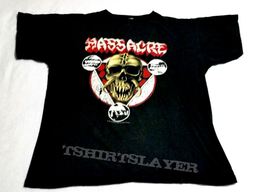 Massacre - Insanity Over Europe tour shirt