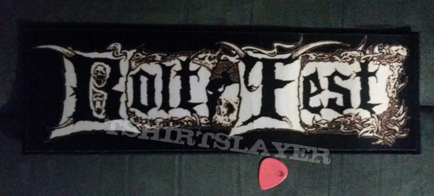 Bolt Thrower - Bolt Fest patch