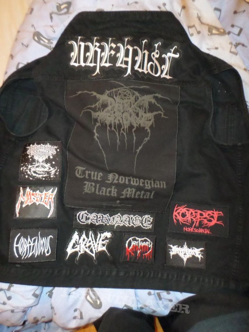 my own battle jacket