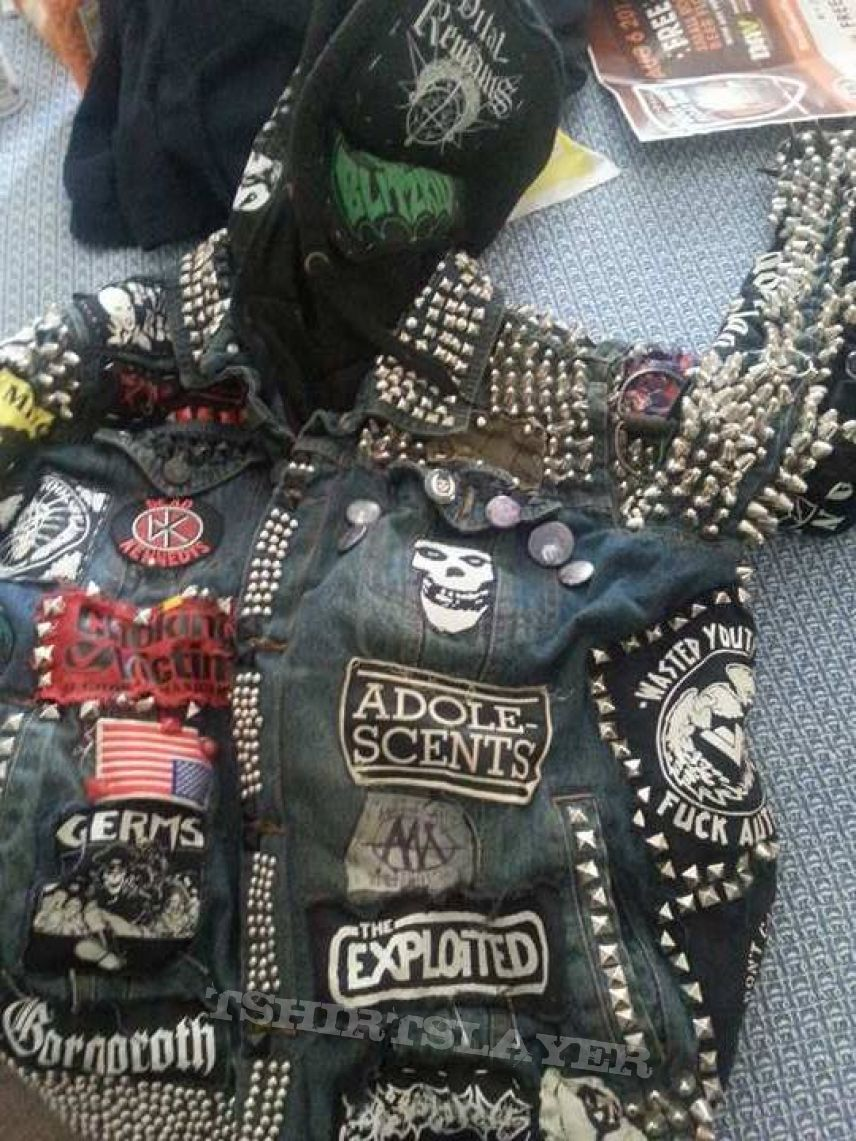 heavy duty battle jacket