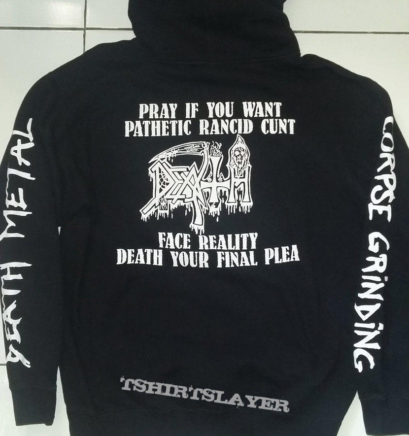 """42. Death """"Corpse Grinding Death Metal"""" Hoodie"""