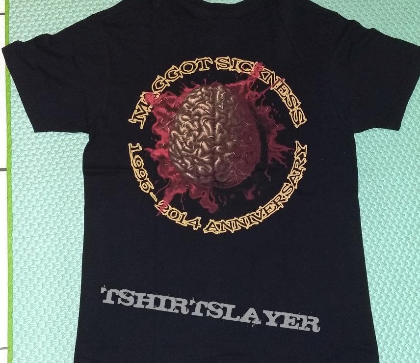 """16. Rotten Corpse """"Maggot Sickness"""" T-shirt"""