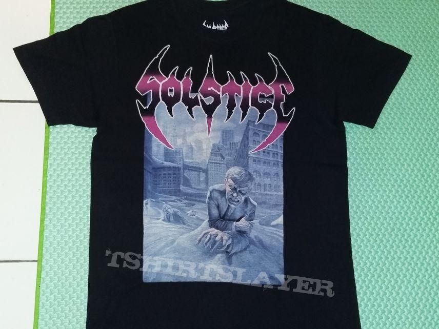 """14. Solstice """"The Sentencing US Tour 2014"""" T-shirt"""