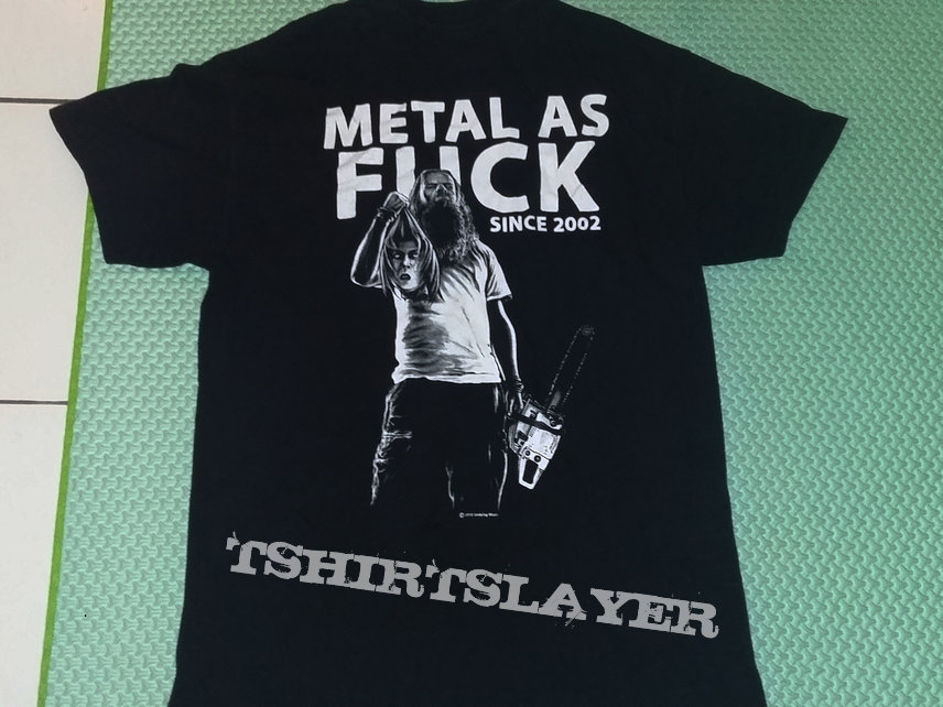 """21. Undying Music """"Metal As Fuck"""" T-shirt"""