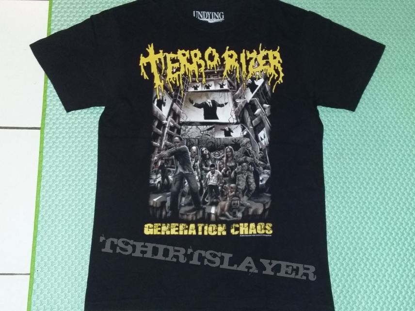 "05. Terrorizer ""Generation Chaos"" T-shirt"