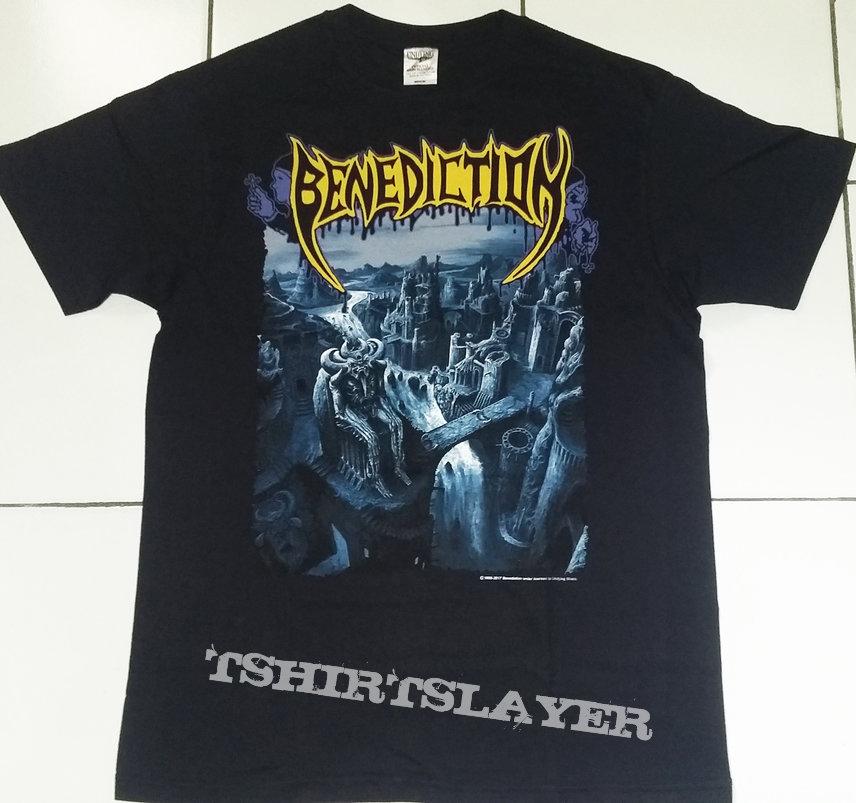 "37. Benediction ""Transcend The Rubicon"" T-shirt"