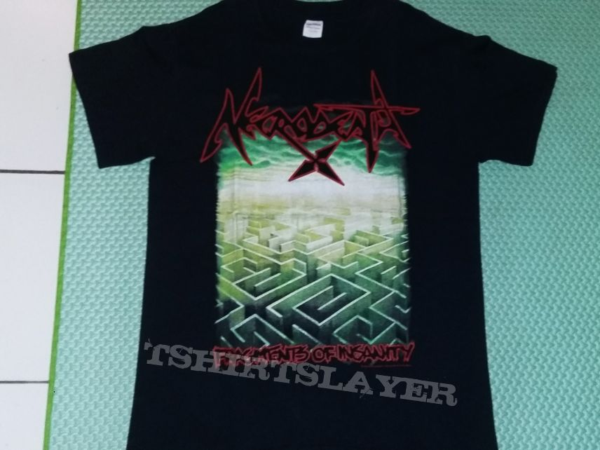 "20. Necrodeath ""Fragments of Insanity"" T-shirt"