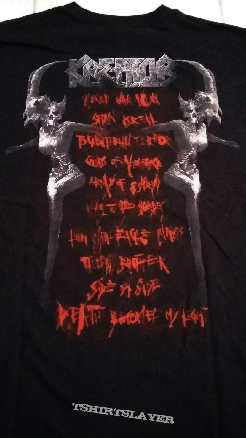 29. Kreator - Gods Of Violence T-shirt