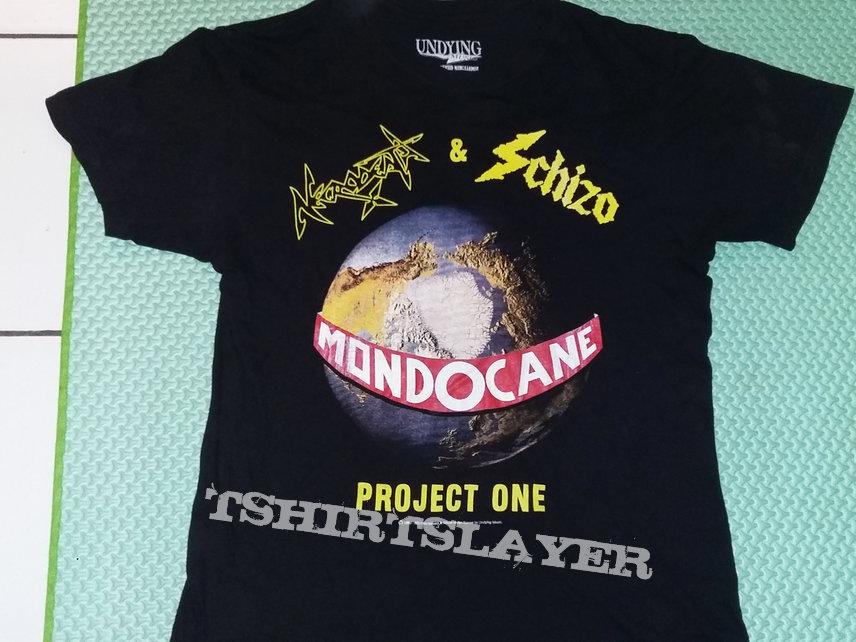 """09. Necrodeath & Schizo """"Mondocane"""" T-shirt (black)"""