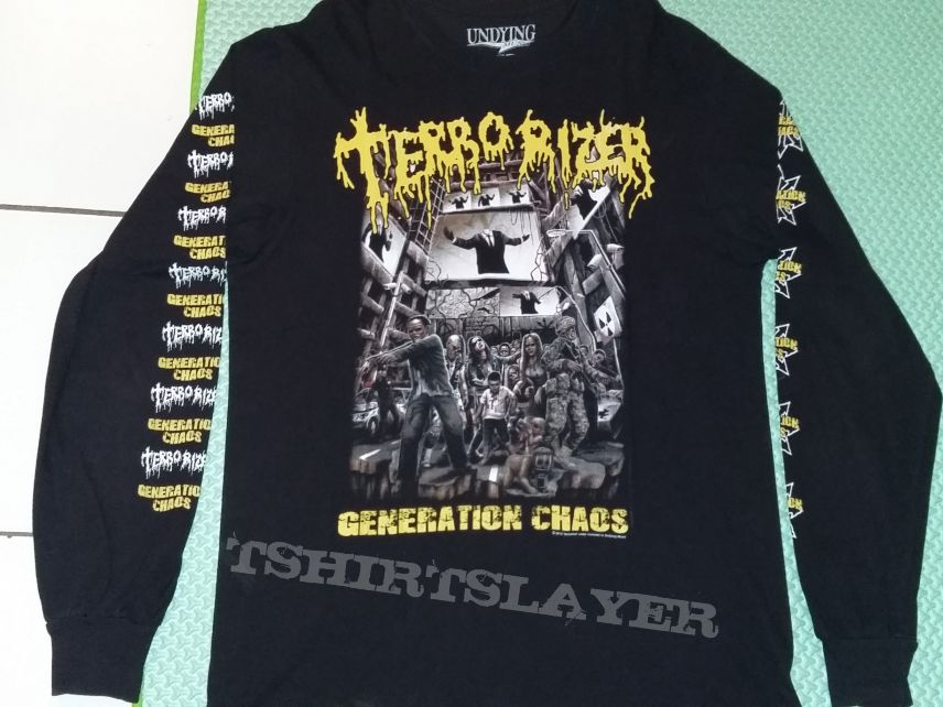 "06. Terrorizer ""Generation Chaos"" Long Sleeve"