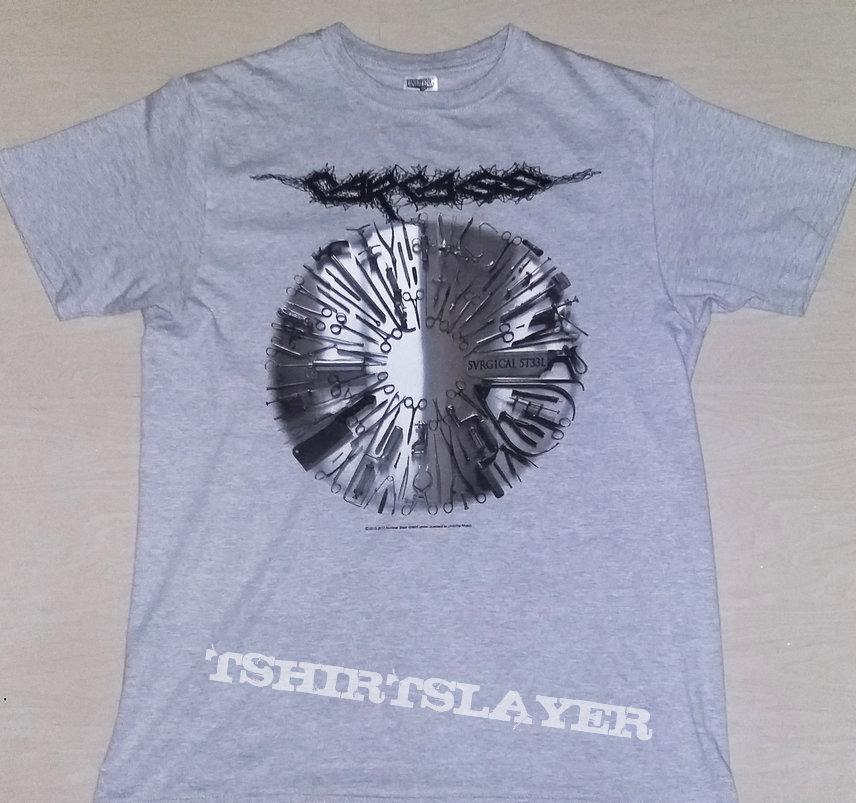 """51. Carcass """"Surgical Steel"""" T-shirt"""