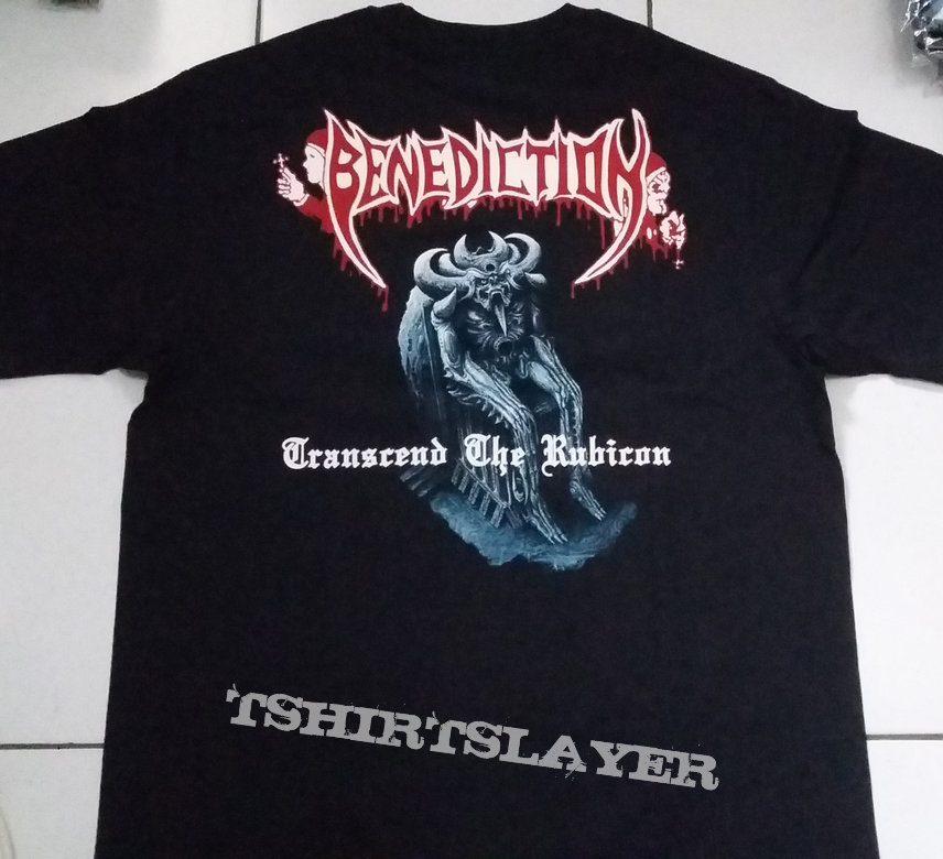35. Benediction - Transcend The Rubicon T-shirt