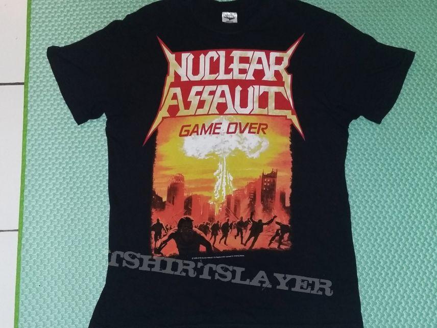 "23. Nuclear Assault ""Game Over"" T-shirt"