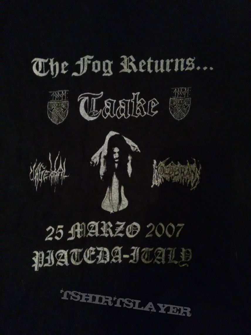 The fog Returns concert - Size S