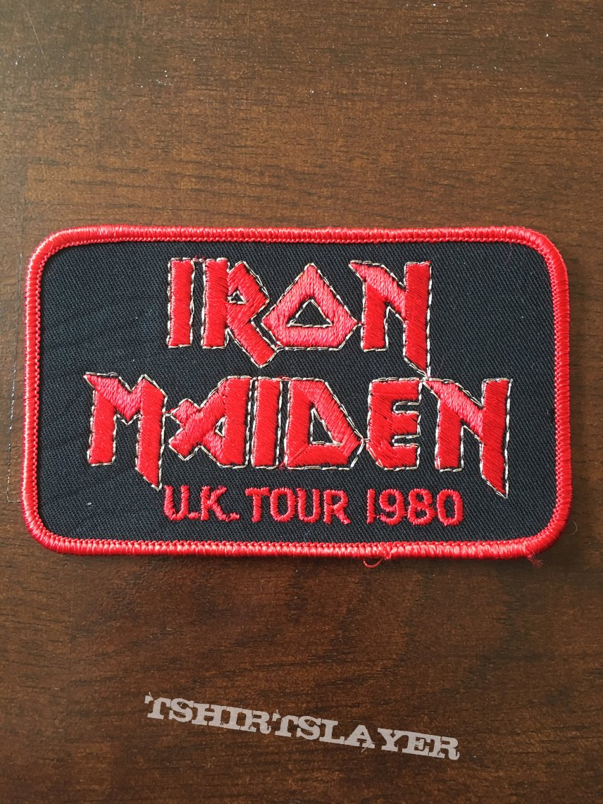 Patch Iron Maiden Uk Tour
