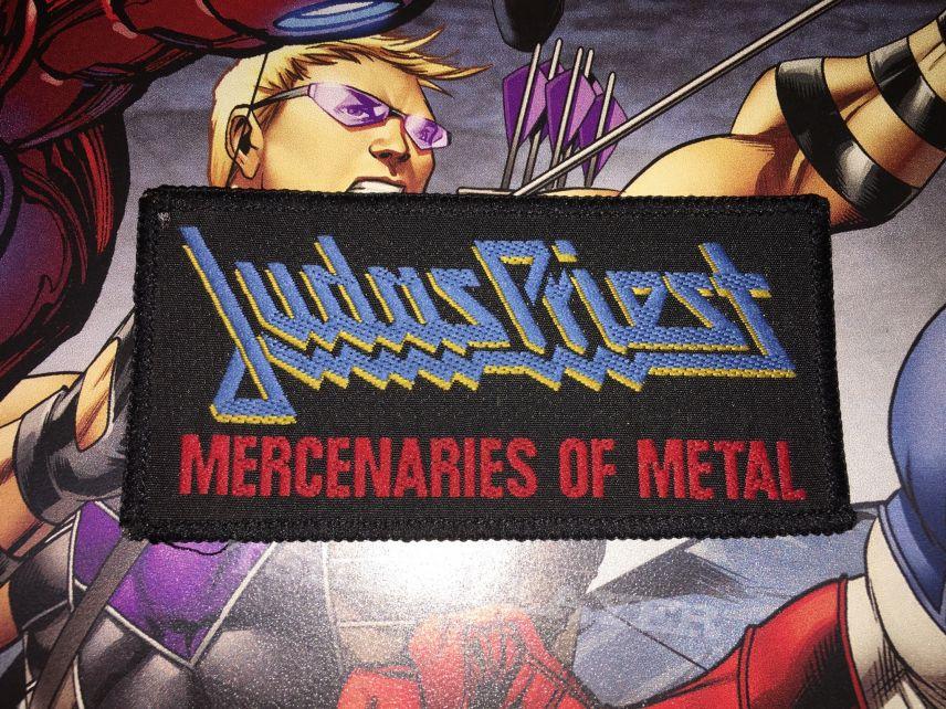 Patch Judas Priest Mercenaries of Metal