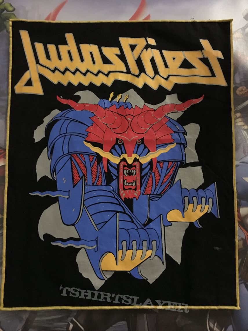 Back Patch Judas Priest Defenders of the Faith Boot
