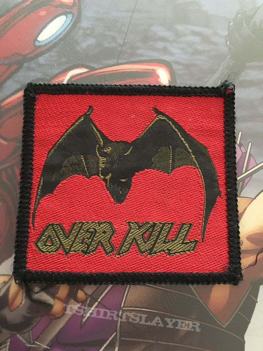 Patch Overkill Under The Influence Black Border